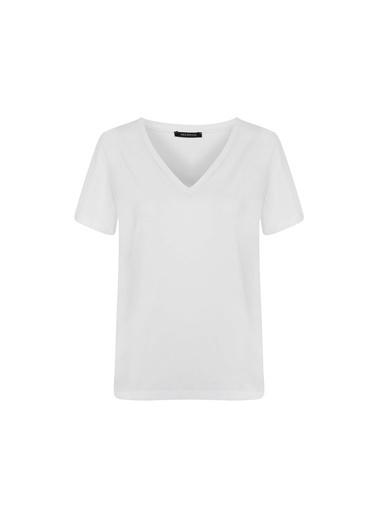 Ipekyol Kadın  Bluz IW6200070007002 Beyaz